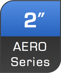 2 inch Aero Series. Lights in this series are interchancable from below.